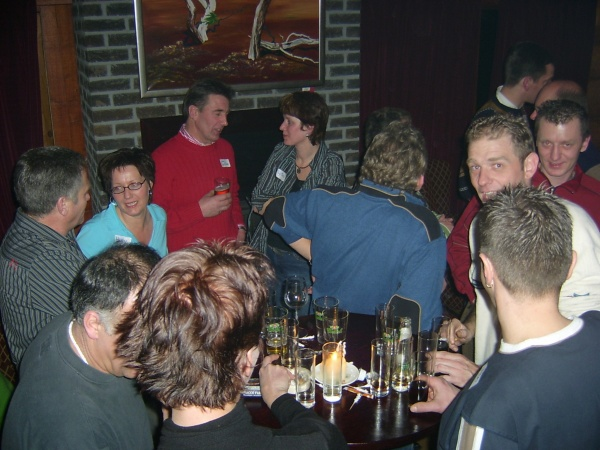 Singleavond Boomstamrestaurant Hardenberg januari 2006