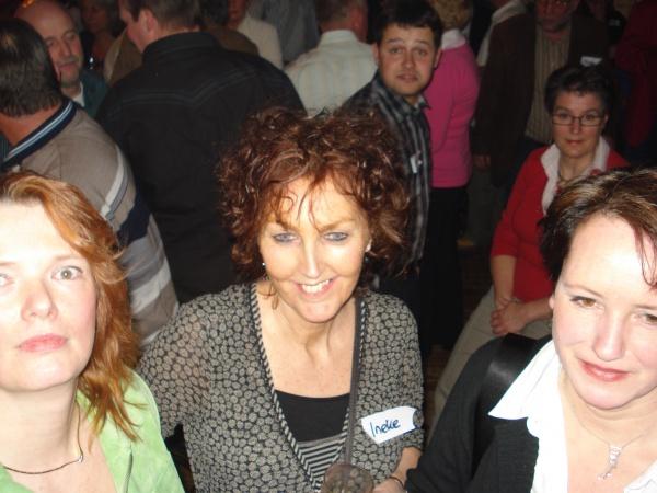 Gerda,Ineke,Ellen Singlesparty 't Wetshuys Almelo 29-3-08