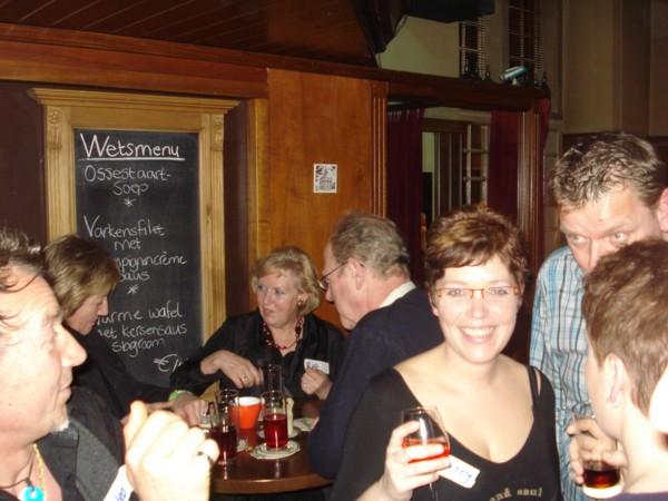 Singlesparty Wetshuys Almelo 14-3-09