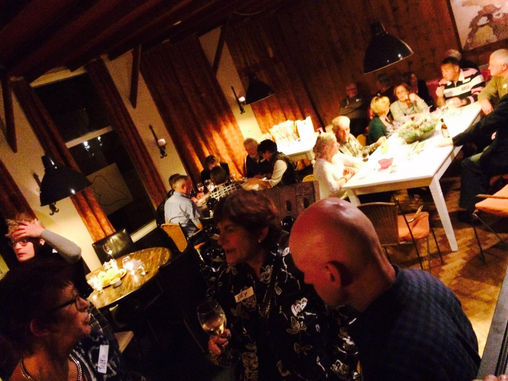 singlecafe in brasserie van Rest.Kawop,Markt 23,Lochem 31-10-14