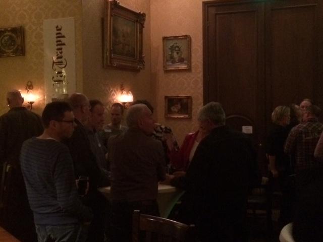 Singlecafe in 't grandcafe van rest.Groeskamp Doetinchem dec.2015