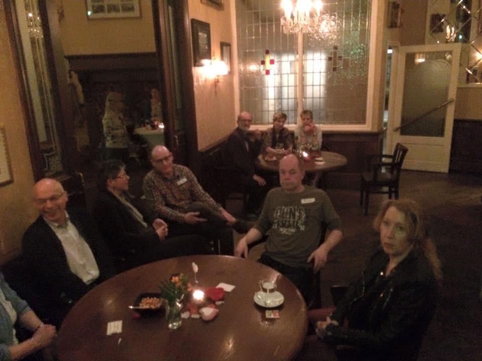 single cafe in het grandcafe van rest.Groeskamp Doetinchem maart 2016
