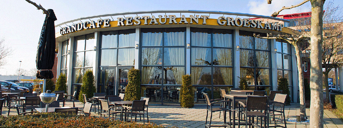 single cafe in 't grandcafe van rest.Groeskamp Doetinchem