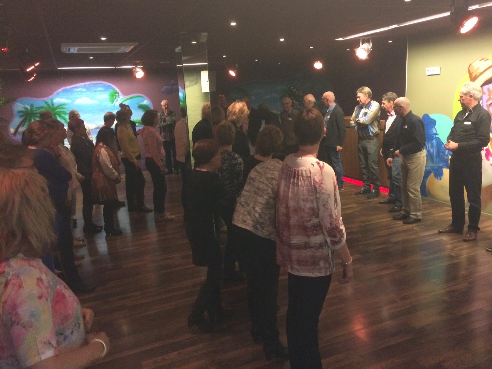 singlescafe bij danscentrum El Centro de la Salsa Hengelo (ov) incl. workshop salsa dansen wat een groot succes bleek!