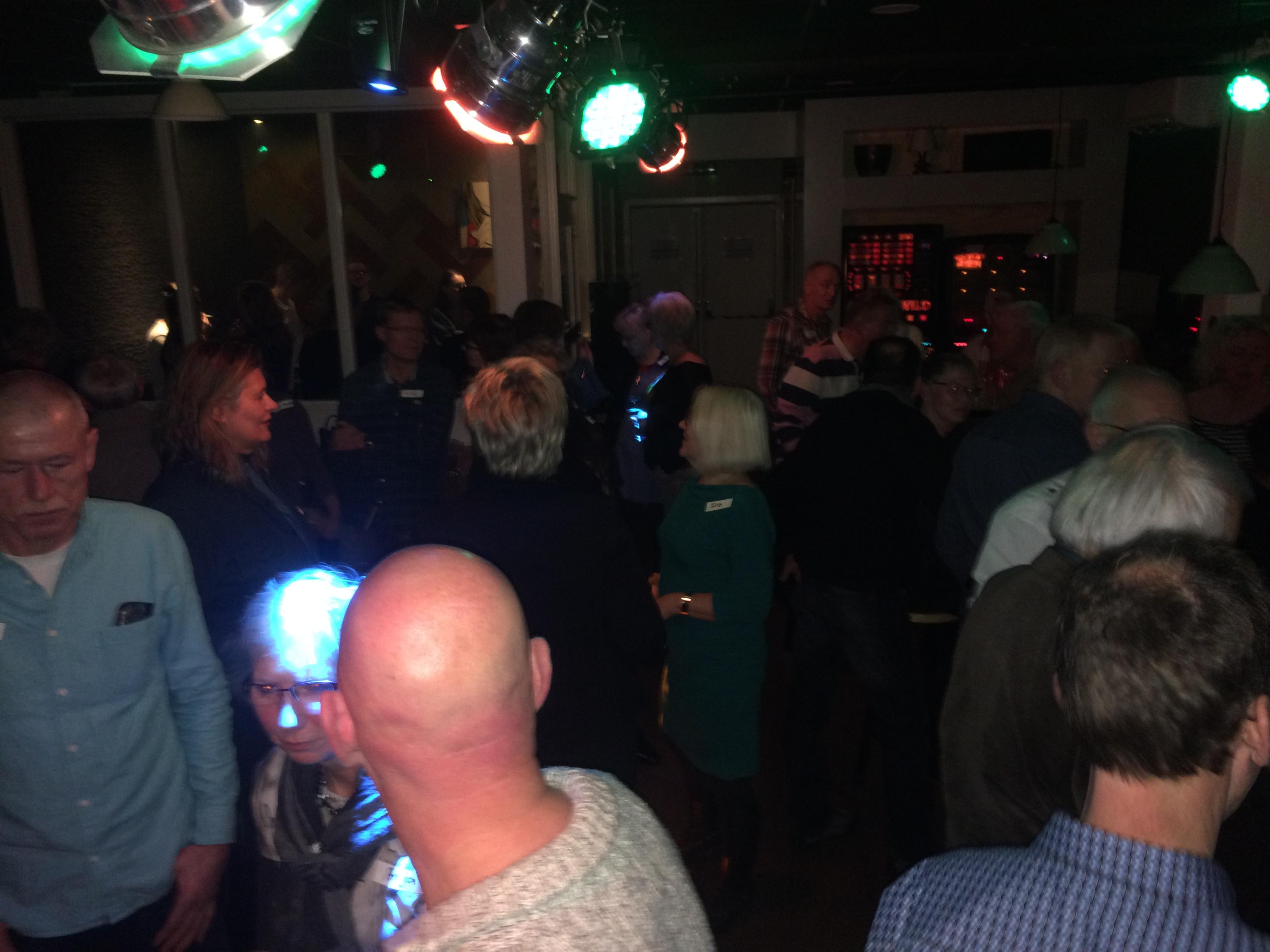Zutphen 45+SinglesCafe op de zaterdagavond