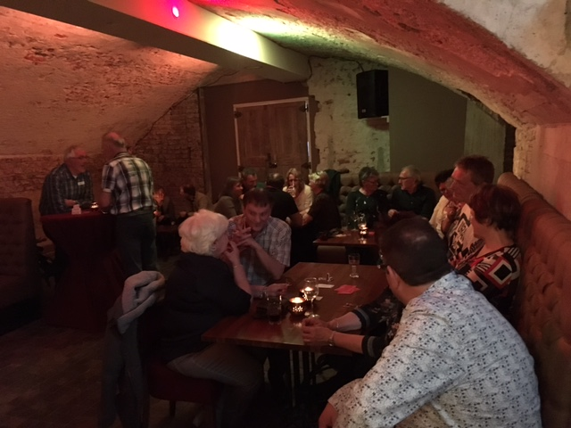 45+singlecafe bij Uffie's Zutphen 1-4-2017