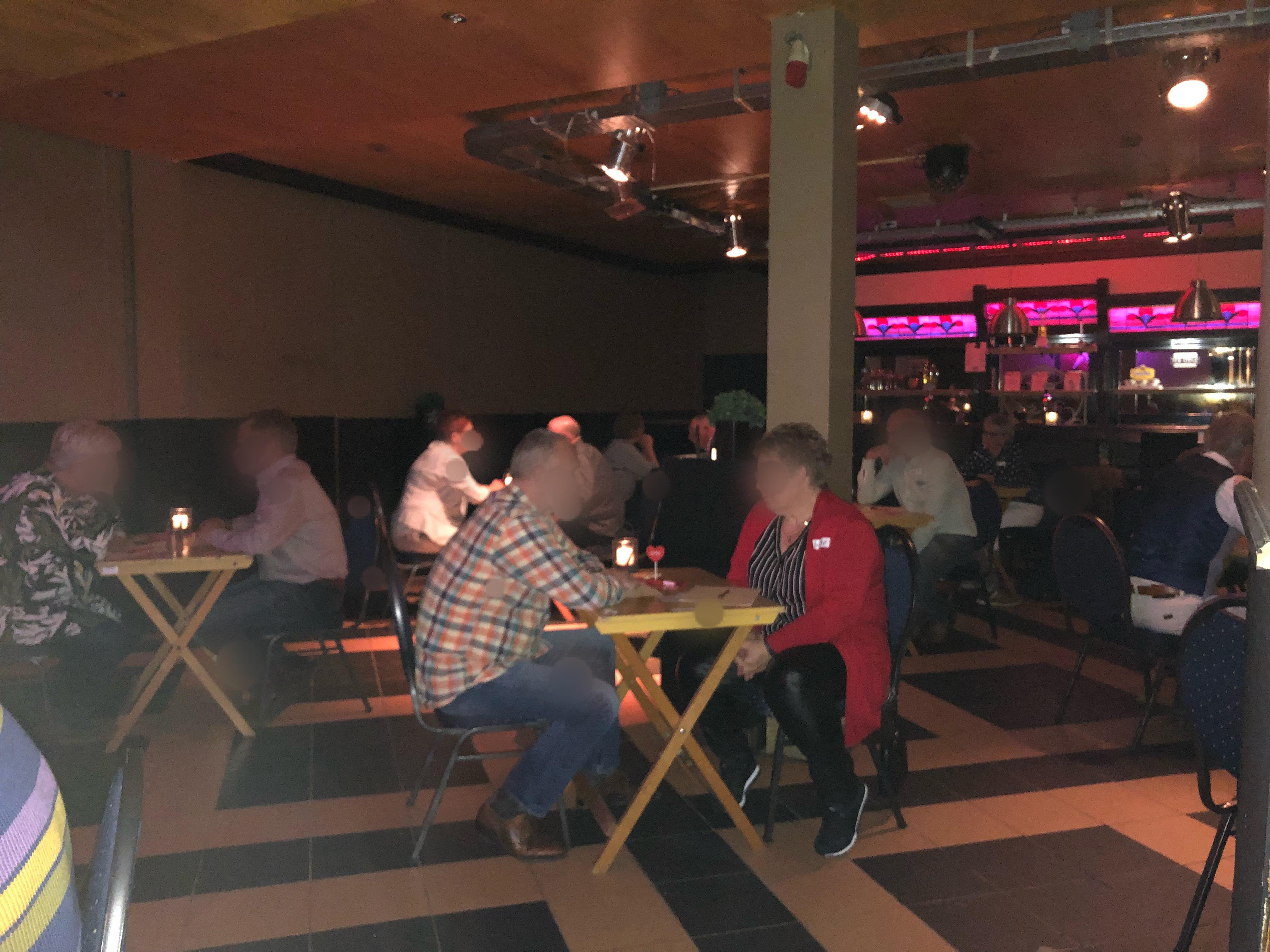 speeddate DatingOost bij cafe De Proatpoal (Hotel ter Stege) Oldenzaal 50-65jr
