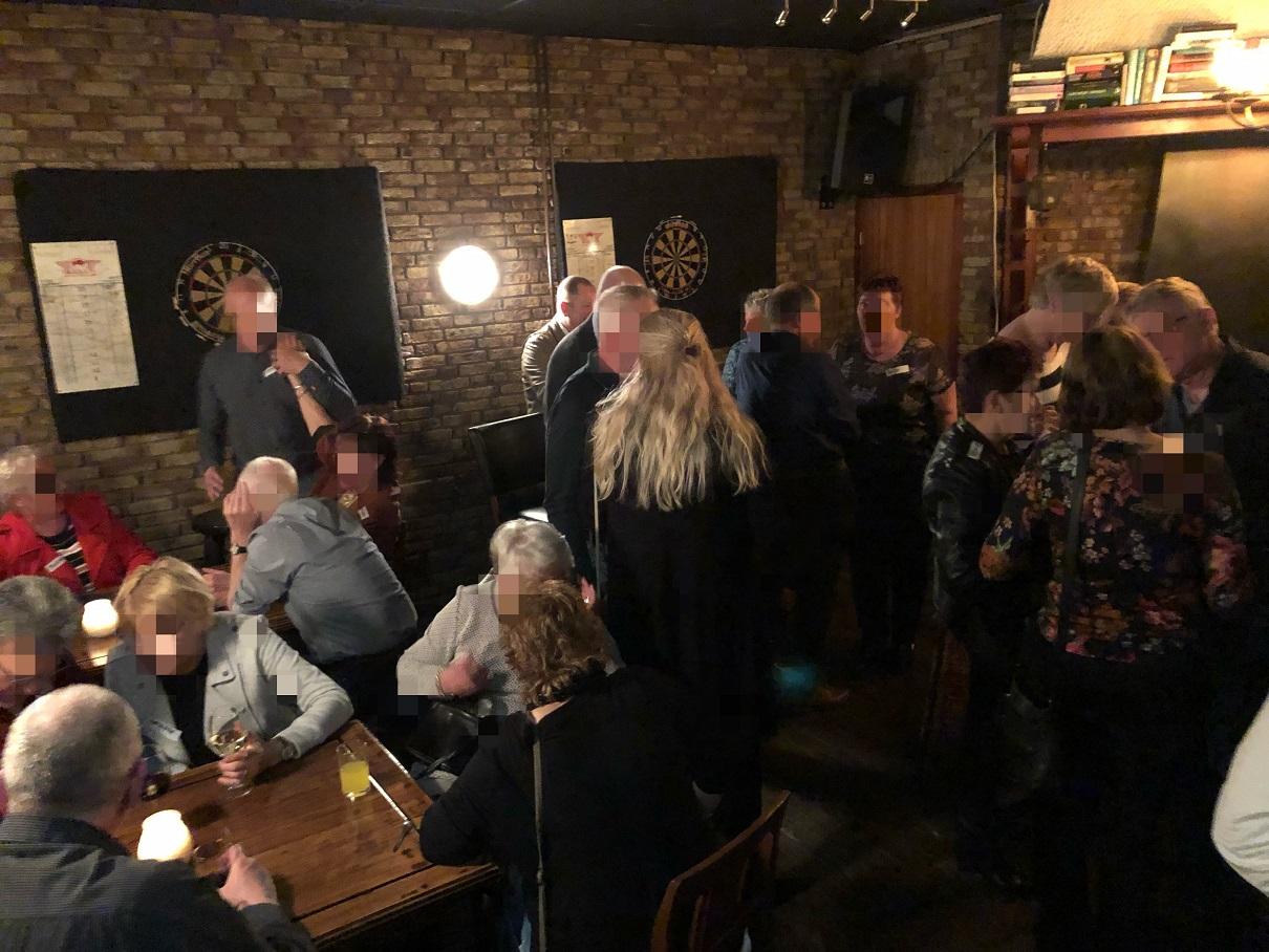 Black Piano singlecafe 45+ Vriezenveen maart 2019