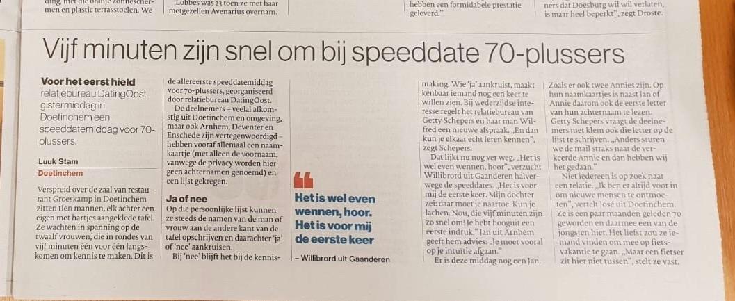www.datingoost.nl dating oost speeddate speeddating